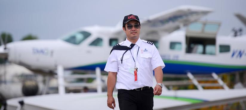 vietnam seaplane pilot
